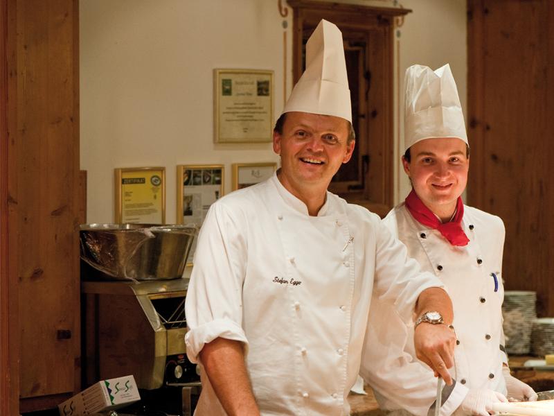 Küchenteam Hotel Theresa Zillertal