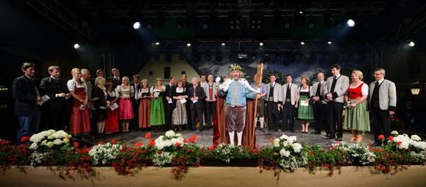 Gambrinus Rede am Gauder-Fest