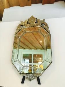 Der Spiegel aus Murano Glas