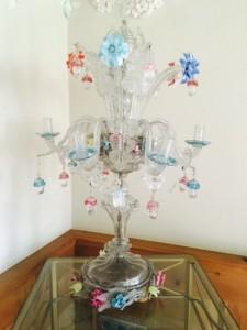 Kerzenständer aus Murano Glas im THERESA
