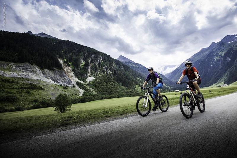 Mountainbike im Zillertal