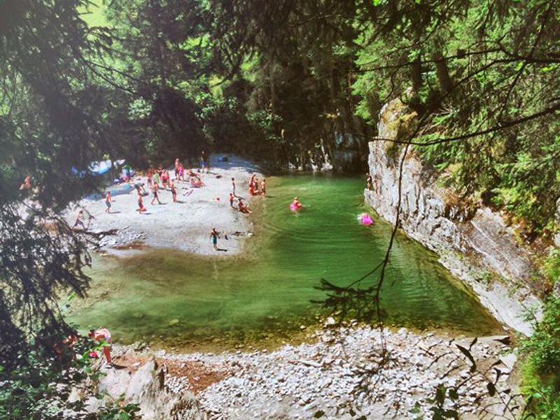 Ausflug in die Zemmschlucht | Hotel THERESA Zillertal